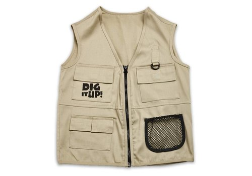 MindWare Dig It Up! Explorer Vest, Ages 4+