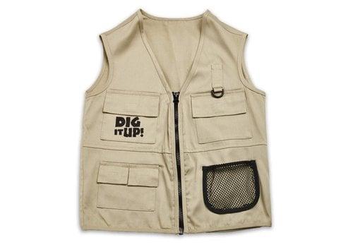 MindWare Dig It Up! Explorer Vest, Ages 4+