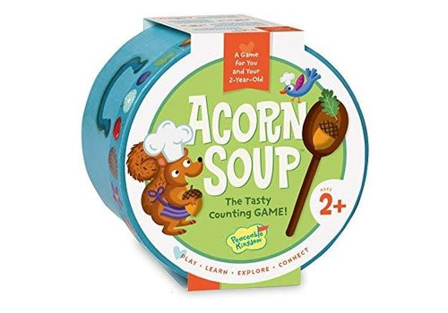 PEACEABLE KINGDOM Acorn Soup, Cooperative Preschool Game