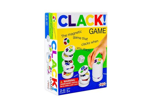 amigo Clack! Magnetic Games that Clacks When you Stack