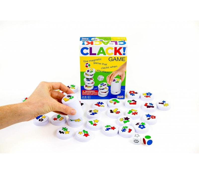 Clack! Magnetic Games that Clacks When you Stack *