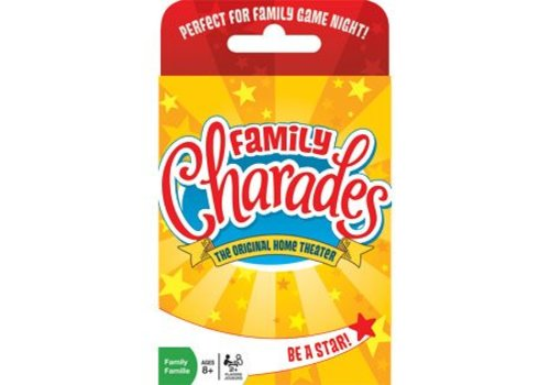MindWare Family Charades Card Game
