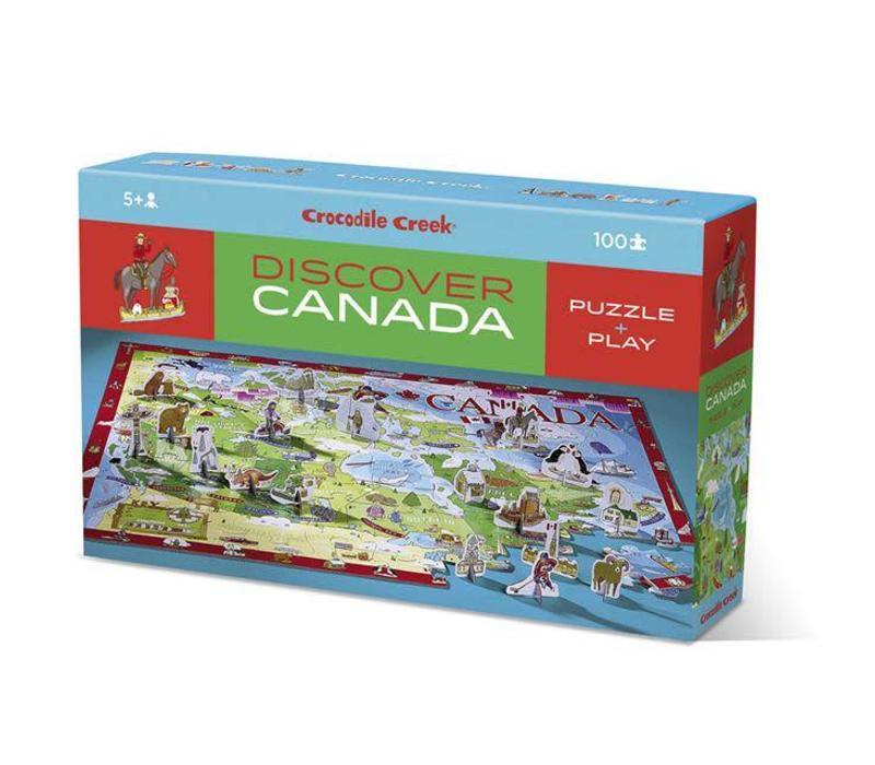 Discover Canada Puzzle 100 pieces