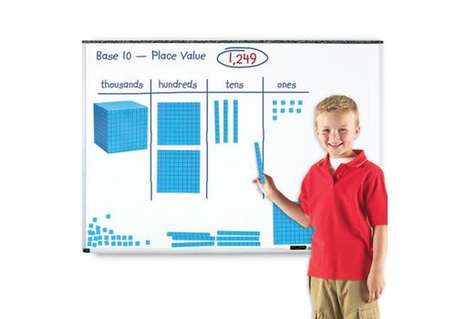 Learning Resources Giant Magnetic Base Ten Set *