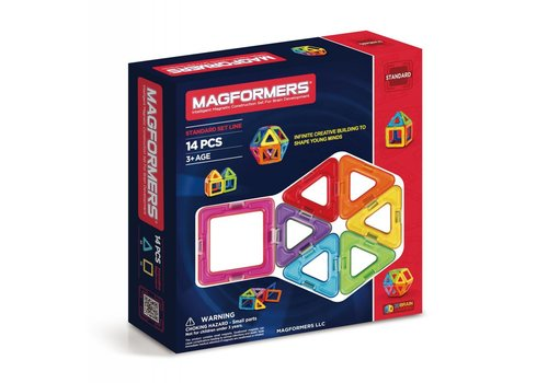 MAGFORMERS Magformers 14 pcs basic set
