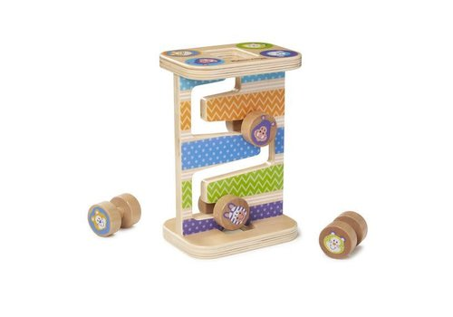 Melissa & Doug Safari Zig Zag Tower * (D)