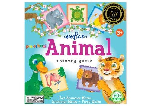 Eeboo Animal Memory and Matching Game