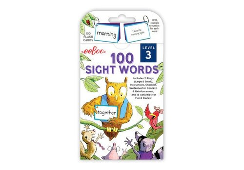 Eeboo 100 Sight Words - Level 3 *