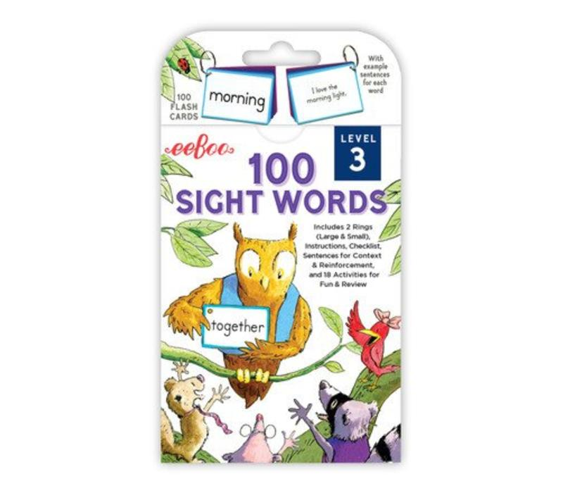 100 Sight Words - Level 3 *