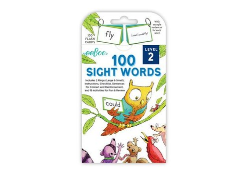 Eeboo 100 Sight Words - Level 2