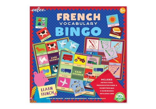 Eeboo French Vocabulary Bingo