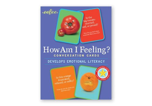 Eeboo How Am I Feeling? Conversation Cards*