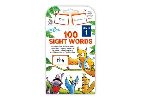 Eeboo 100 Sight Words - Level 1