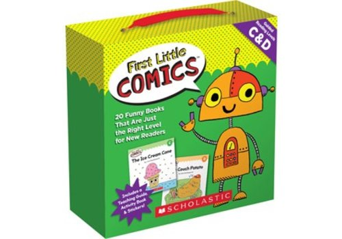 SCHOLASTIC CANADA First Little Comics, Level A & B