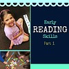 Early Reading Skills  - Part 1 Spring  Mondays 4:30-5:30