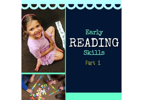 Early Reading Skills  - Part 1 Winter Mondays 4:30-5:30