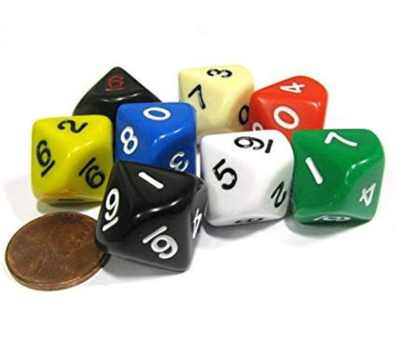 10 Sided Jumbo Dice
