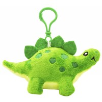 Dino Dudes Scented Backpack Clip - green