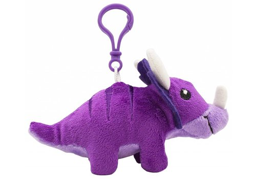 scentco Dino Dudes Scented Backpack Clip - purple