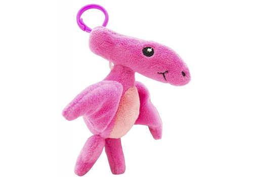 scentco Dino Dudes Scented Backpack Clip - pink