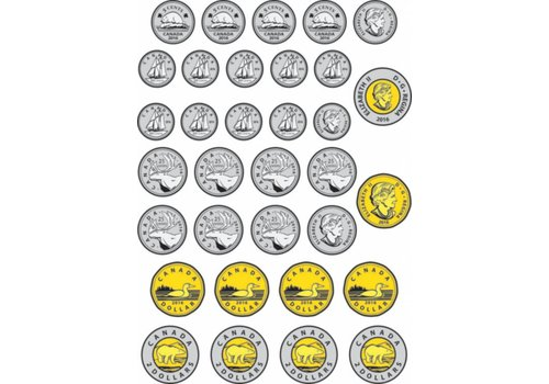 ASHLEY PRODUCTIONS Magnetic Canadian Coins
