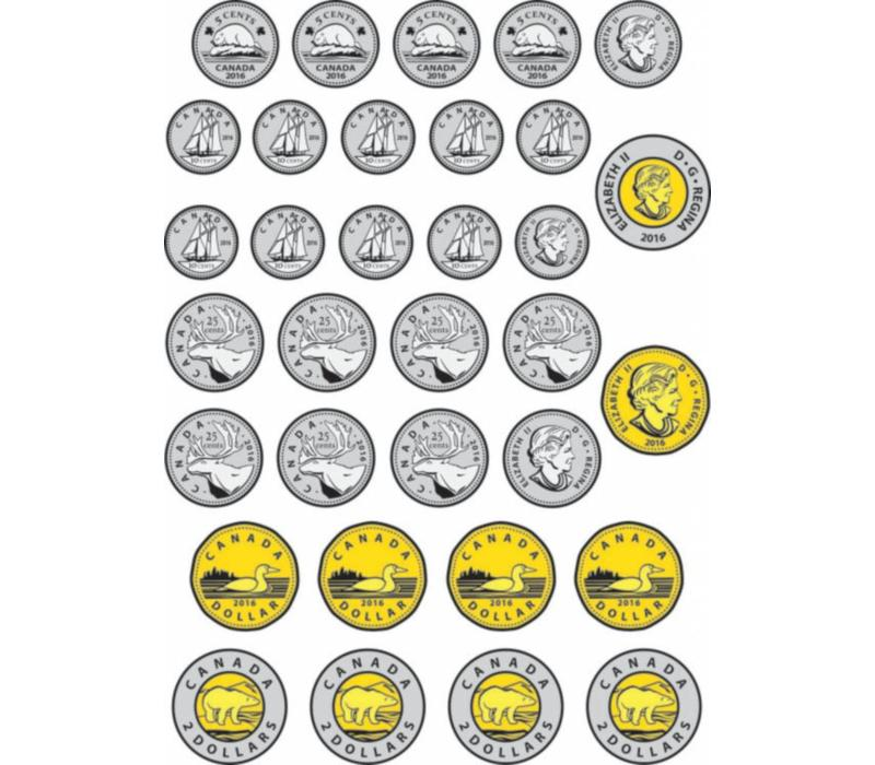 Magnetic Canadian Coins *