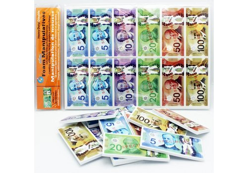 ASHLEY PRODUCTIONS Canadian Dollars Currency Set