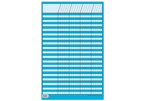 Creative Teaching Press Blue Small Vertical Incentive Chart