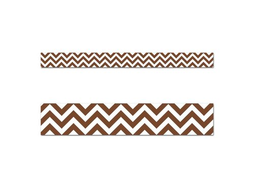 Creative Teaching Press Chocolate Chevron Border