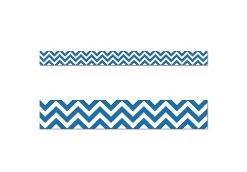 Creative Teaching Press Blue Chevron Border