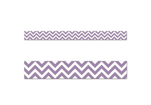 Creative Teaching Press Purple Chevron Border