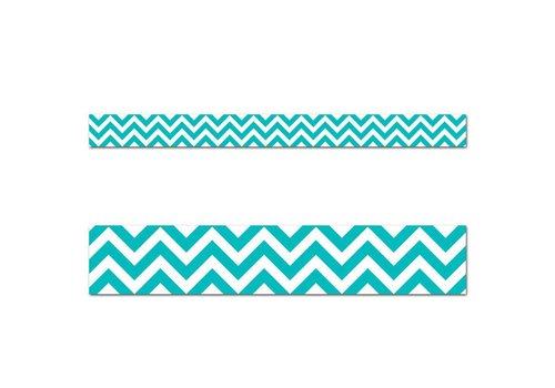 Creative Teaching Press Turquoise Chevron Border