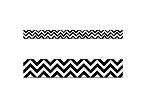 Creative Teaching Press Black Chevron Border