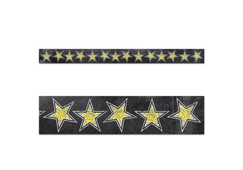 Creative Teaching Press Chalk It Up! Gold Stars Border