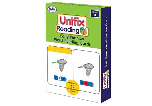 Didax Unifix Reading Early Phonics Word Building Cards