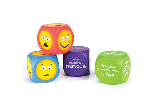 Learning Resources Soft Foam Emoji Cubes