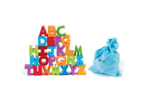 Learning Resources Letter Blocks *