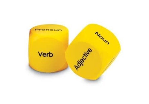 Learning Resources Parts of Speech Cubes