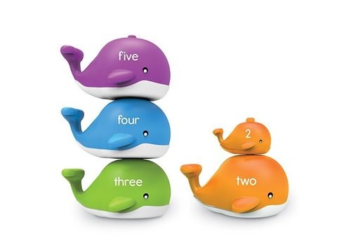 Learning Resources Snap-n-Learn Stacking Whales