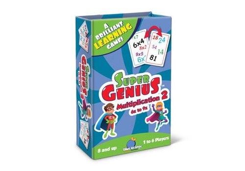 BLUE ORANGE GAMES Super Genius Multiplication 2 6x to 9x