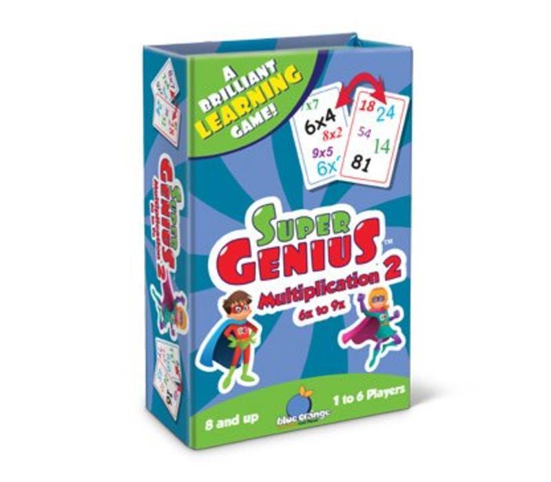 Super Genius Multiplication 2 6x to 9x