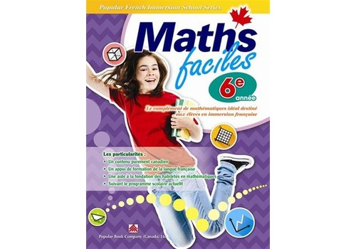 Popular Book Company Math Faciles 6 annee