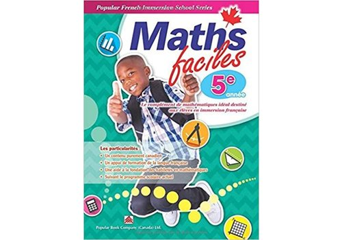 Popular Book Company Math Faciles 5 annee