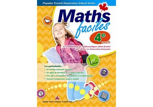 Popular Book Company Math Faciles 4 annee