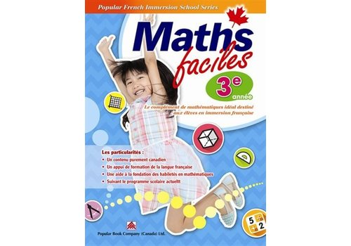 Popular Book Company Math Faciles 3 annee