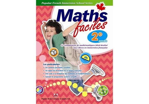 Popular Book Company Math Faciles 2 annee