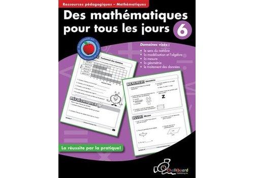 NELSON Des mathematiques pour tous les jours, 6