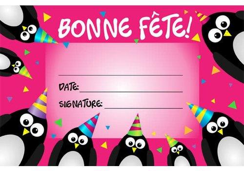 LEARNING TREE Bonne Fete! French Certificate (Penguins) *