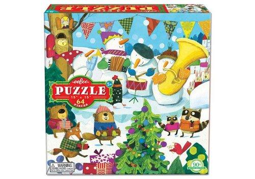 Eeboo Snowman 64pc Puzzle