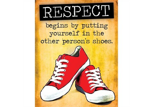 EUREKA Respect Other's Shoes (Respect)